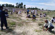 विद्यालय ब्यवस्थापन समितिको पहिलो नमुना कार्य आठ हजार विरुवा रोपेर शुरुवात
