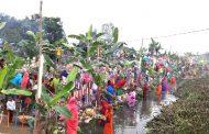 छठ पर्वको पहिलो दिनको अनुष्ठान देशभरि सम्पन्न