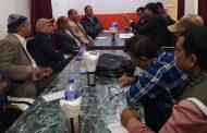 नेपाल बौद्धिक पेशाकर्मी महासङ्ह को प्रदेश २ स्तरिय बैठक सप्पन्न